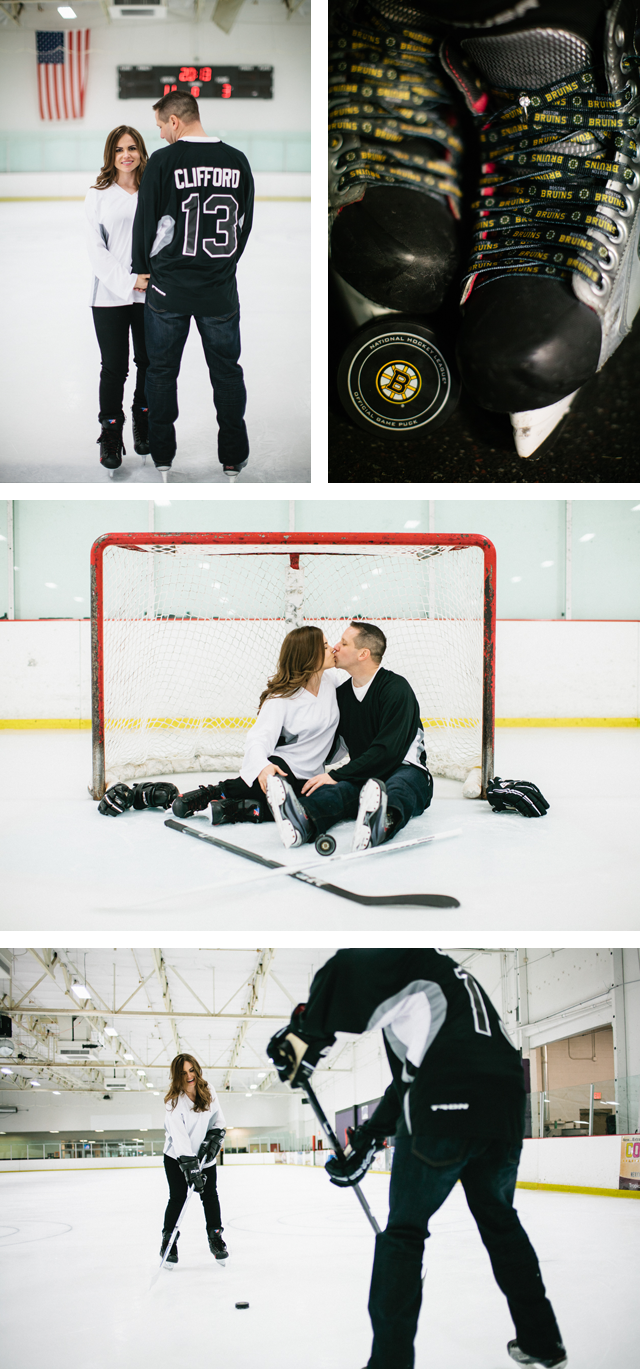 Hockey Engagement Photos Ice Rink Boston Bruins Adrian and Adnrew Meg Ruth Photo_004