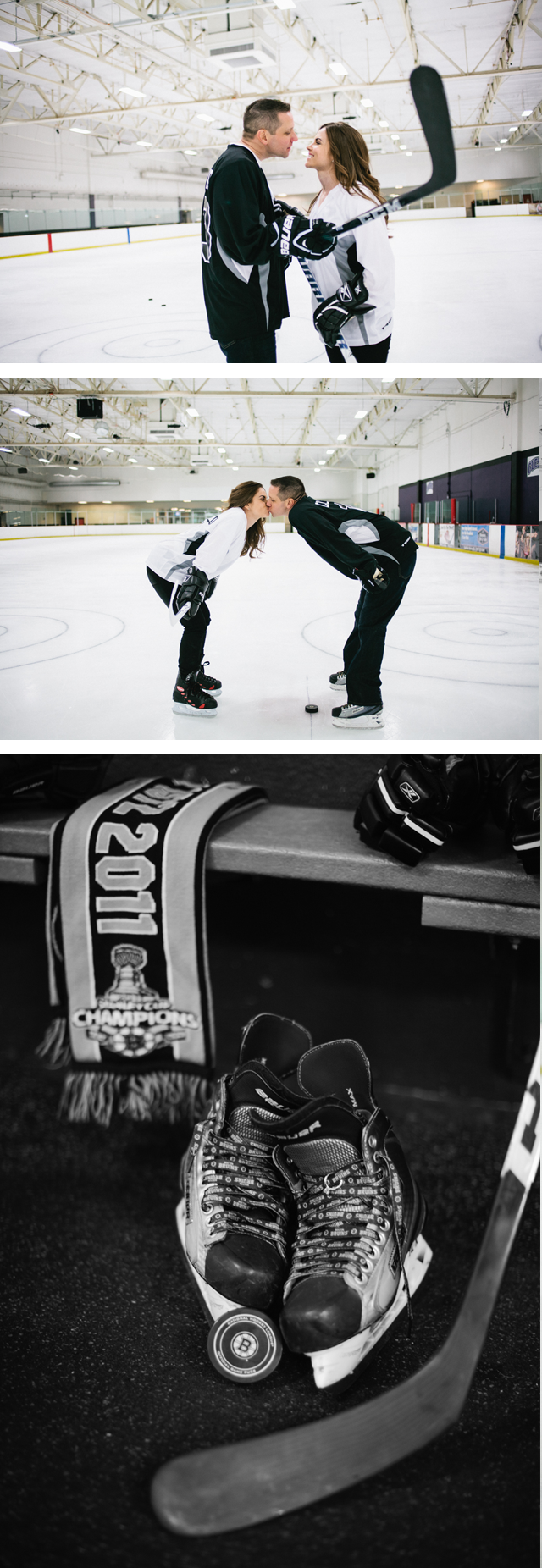 Hockey Engagement Photos Ice Rink Boston Bruins Adrian and Adnrew Meg Ruth Photo_005